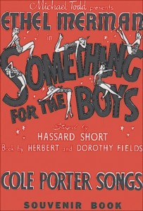 Something for the Boys Original Show Poster
