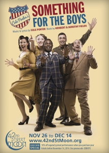 Post image for San Francisco Theater Preview: SOMETHING FOR THE BOYS (42nd Street Moon)