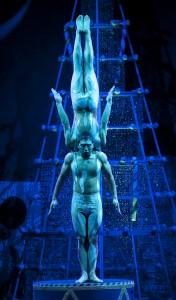 The Icemen in CIRQUE DREAMS HOLIDAZE.