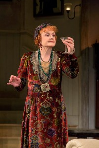 """Angela Lansbury in the North American tour of Noël Coward's """"Blithe Spirit."""""""