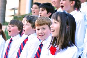 Los Angeles Children's Chorus. Photo by JP Candelier.