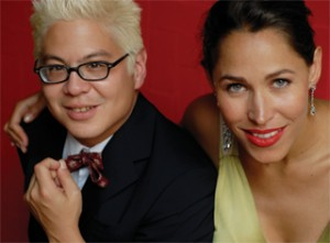 Pink Martini's Timothy Lauderdale and China Forbes. Photo by Sherri Diteman