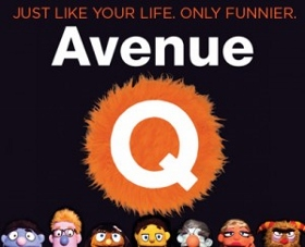 Post image for San Diego Theater Review: AVENUE Q (Coronado Playhouse in Coronado)