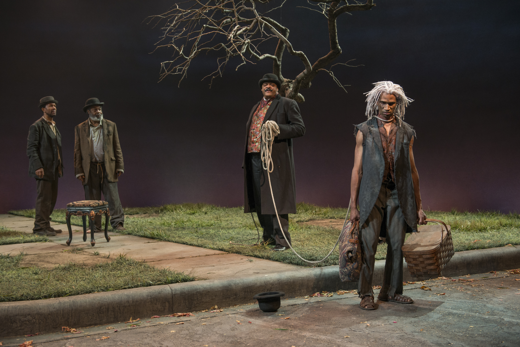 waiting for godot essay waiting for godot themes from the creators  theater review waiting for godot court theatre in chicago allengilmore alfredwilson a c smith anthonyleeirons