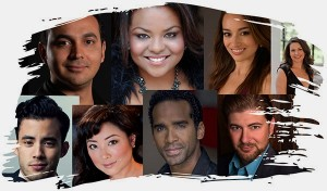 Cast of LA Opera's ¡Figaro! (90210).