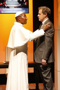 Mel Johnson Jr and Rufus Collins in THE ROAD TO DAMASCUS. Photo by Carol Rosegg