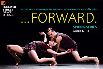 Post image for Chicago Dance Review: HUBBARD STREET DANCE CHICAGO'S SPRING SERIES (Harris Theater)