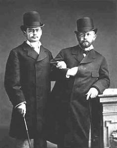 Iosif Kotek with Pyotr Ilyich Tchaikovsky, 1877