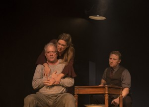 Jeff Perry, Zoe Perry, Kevin McKidd in ANNA CHRISTIE. Photo by Diego Barajas.