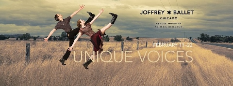 Post image for Chicago Dance Review: UNIQUE VOICES (The Joffrey Ballet at Auditorium Theatre)