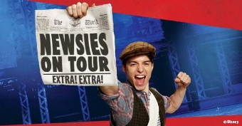 Post image for Theater Review: NEWSIES (National Tour at the Hollywood Pantages Theatre)