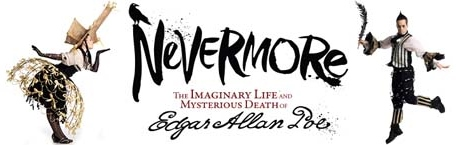 Post image for Off-Broadway Theater Review: NEVERMORE (Catalyst Theatre at New World Stages)