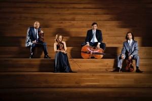 Szymanowski Quartet - Grzegorz Kotow, Agata Szymczewska, Marcin Sieniawski and Volodia Mykytka.