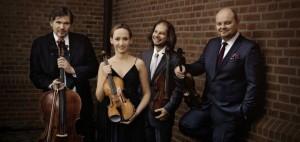 Szymanowski Quartet --Grzegorz Kotow, Agata Szymczewska, Marcin Sieniawski and Volodia Mykytka.
