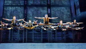 Newsies, a Disney Theatrical Production under the direction of Thomas Schumacher presents Newsies, music by Alan Menken, lyrics by Jack Feldman, book by Harvey Fierstein, starring Dan Deluca (Jack Kelly), Steve Blanchard (Joseph Pulitzer), Stephanie Style