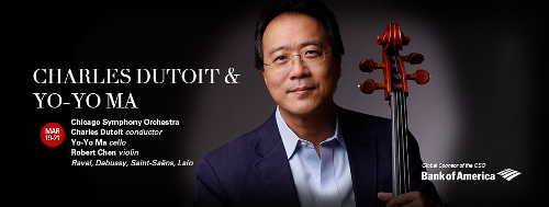Post image for Chicago Music Preview: CHARLES DUTOIT / YO-YO MA (Chicago Symphony Orchestra)