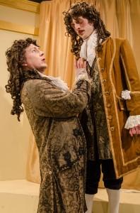Casey Chapman as Bejart and Jesse Dornan as Elomire