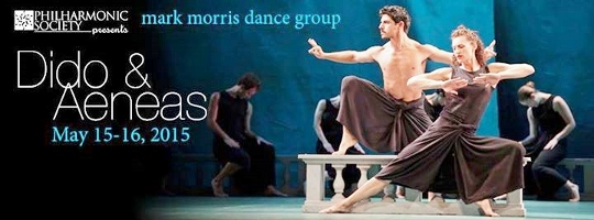 Dance Preview: MARK MORRIS'S DIDO AND AENEAS (Irvine Barclay