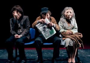 Garbine-Insausti-Edu-Carcamo-and-Jose-Dault-in-masks-in-ANDRE-DORINE-at-Los-Angeles-Theatre-Center.