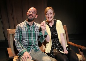 James McHale and Jennifer Ruckman in SAMSARA at The Chance Theater.