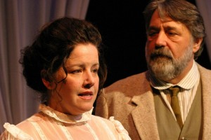 Michele-Spears-and-Floyd-VanBuskirk-in-Impro-Theatres-CHEKHOV-UNSCRIPTED