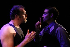 Tim Cummings, John Klopping in Coeurage Theatre Company's production of THE WOODSMAN