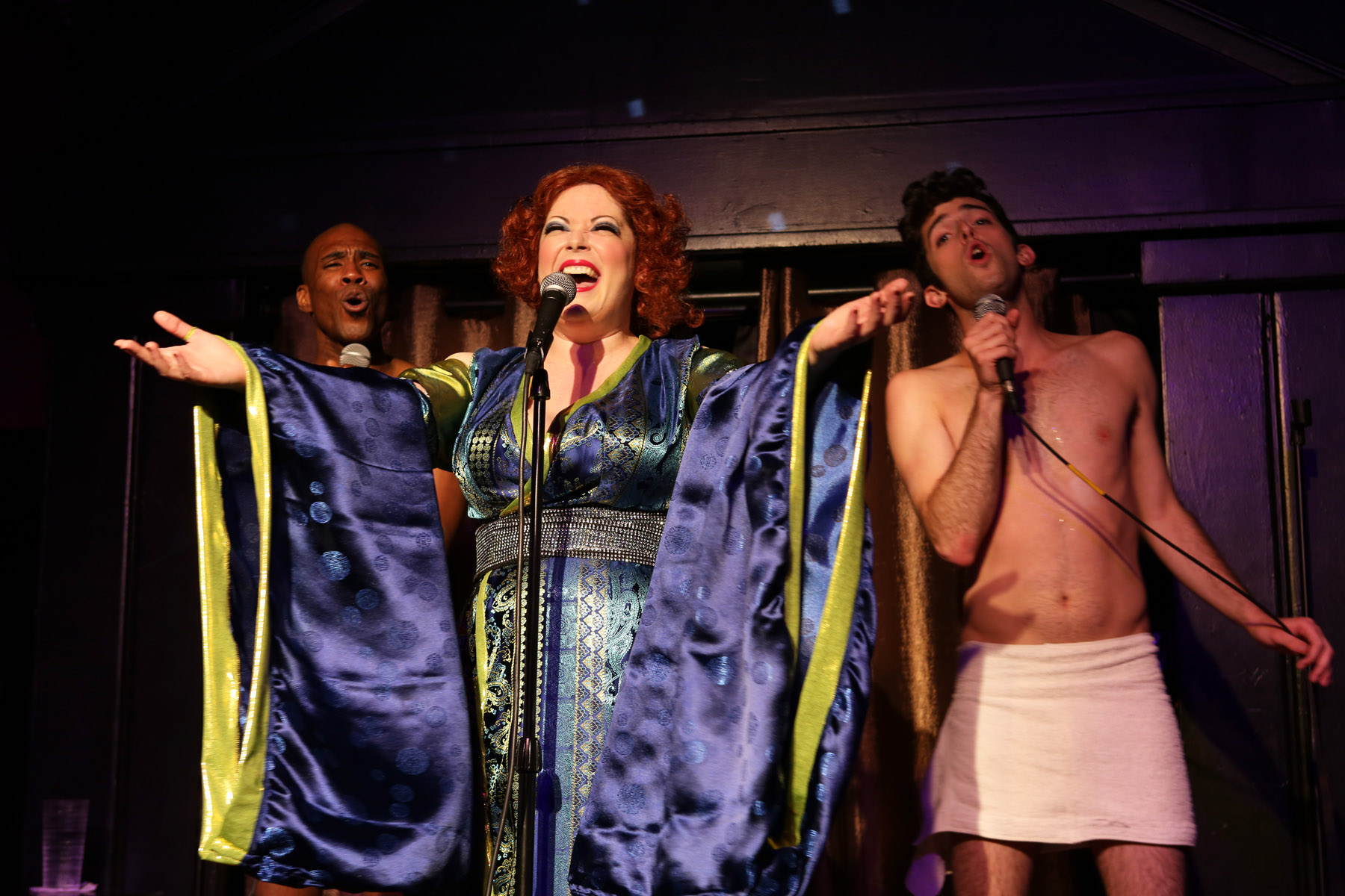 Theater Review Bette Live At The Continental Baths Hell