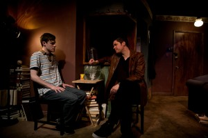 Curtis Edward Jackson, Peter Moore (l to r) in Brilliant Adventures at Steep Theatre