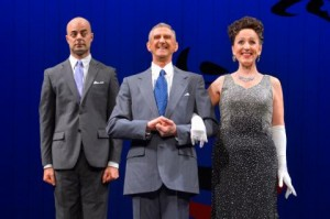 Martin Grimwood, Don Bridges and Denise Wharmby perform in Call Me Miss Birds Eye - A Celebration of Ethel Merman at A.C.T.'s Geary Theater July 8 – 19.