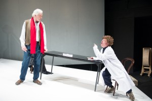 Edward Petherbridge and Paul Hunter in MY PERFECT MIND. Photo by  Manuel Harlan