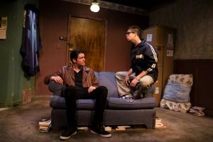 Peter Moore, Brandon Rivera (l to r) in Brilliant Adventures at Steep Theatre