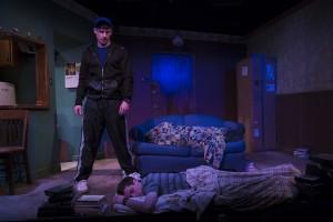 Ryan McBride, Ty Olwin (l to r) in Brilliant Adventures at Steep Theatre