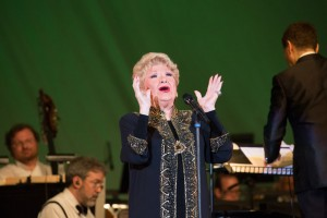 Soloist Marilyn Maye joins Michael Feinstein in BIG BAND SWING! with the Pasadena POPS.