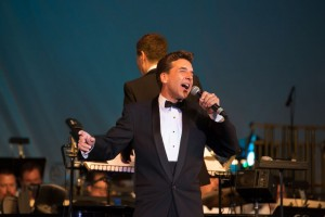 Soloist Michael Andrew joins Michael Feinstein in BIG BAND SWING! with the Pasadena POPS.