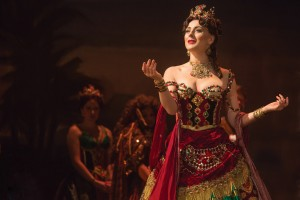 THE PHANTOM OF THE OPERA 9 - Jacquelynne Fontaine as Carlotta - photo Matthew Murphy