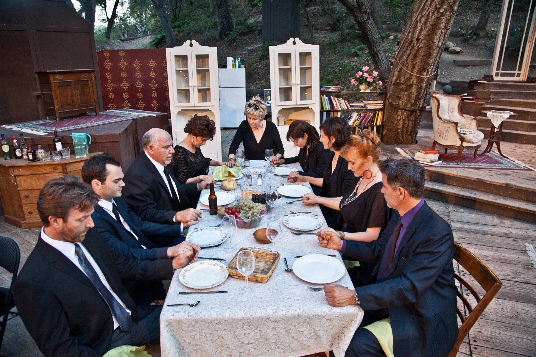Theater Review August Osage County Theatricum Botanicum