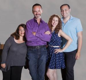 Angelina Réaux, Randall Dodge, Rena Strober, and Nicholas Mongiardo-Cooper