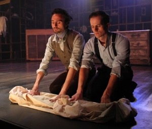 Joseph V. Calarco, Kurt Quinn in Coeurage Theatre Company's FAILURE - A LOVE STORY. Photo by John Klopping.