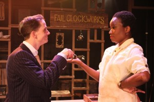 Kurt Quinn & June Carryl in Coeurage Theatre Company's FAILURE - A LOVE STORY. Photo by John Klopping.