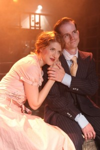 Margaret Katch & Kurt Quinn in Coeurage Theatre Company's FAILURE - A LOVE STORY. Photo by