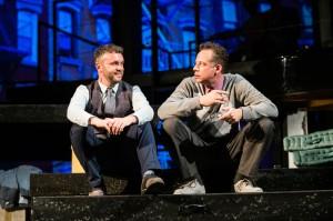 Robert (Keith Pinto) and David (Ryan Drummond) discuss married life.