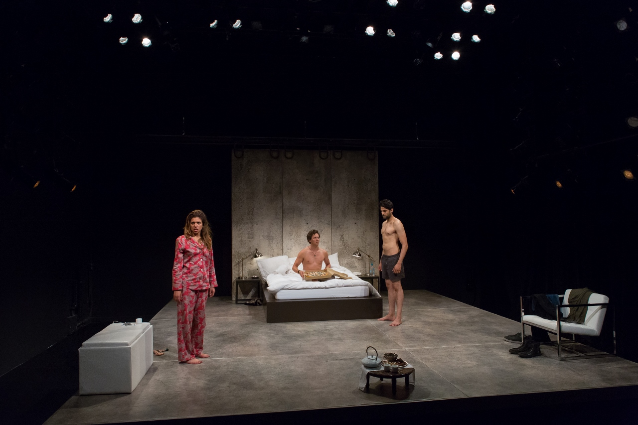 theater review threesome 59e59 theaters offbroadway