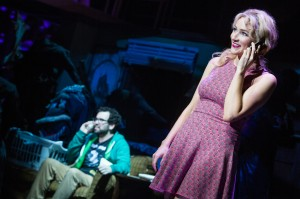 Betsy Wolfe and Matt Bittner in La Jolla Playhouse's world-premiere musical UP HERE