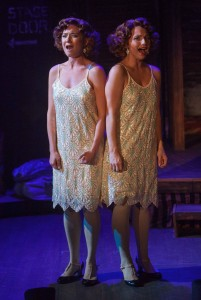 Colleen Fee and Britt-Marie Sivertsen in Porchlight Music Theatre's SIDE SHOW. Photo by Anthony Robert Lapenna.