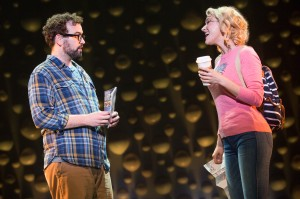 Matt Bittner and Betsy Wolfe in La Jolla Playhouse's world-premiere musical UP HERE