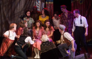 The cast of Porchlight Music Theatre's SIDE SHOW. Photo by Anthony Robert Lapenna.