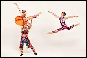 Ron Todorowski Amy Ruggiero, and John Selya in Yowzie costumes