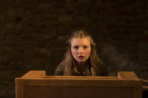 Genevieve Hulme-Beaman in PONDLING, produced by Gúna Nua Theatre Company and Ramblinman for Origin Theatre Co's 1st Irish Theatre Festival at 59E59 Theaters. Photos by Paul McCarthy