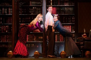 Kristen Beth Williams, Kevin Massey and Adrienne Eller in A GENTLEMAN'S GUIDE TO LOVE AND MURDER National Tour. Photo by Joan Marcus.