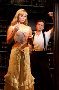 Kristen Beth Williams and Kevin Massey in A GENTLEMAN'S GUIDE TO LOVE AND MURDER National Tour. Photo by Joan Marcus.